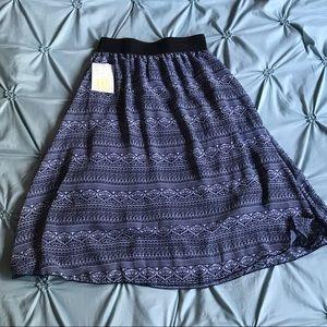 NWT xxs  lularoe lola skirt